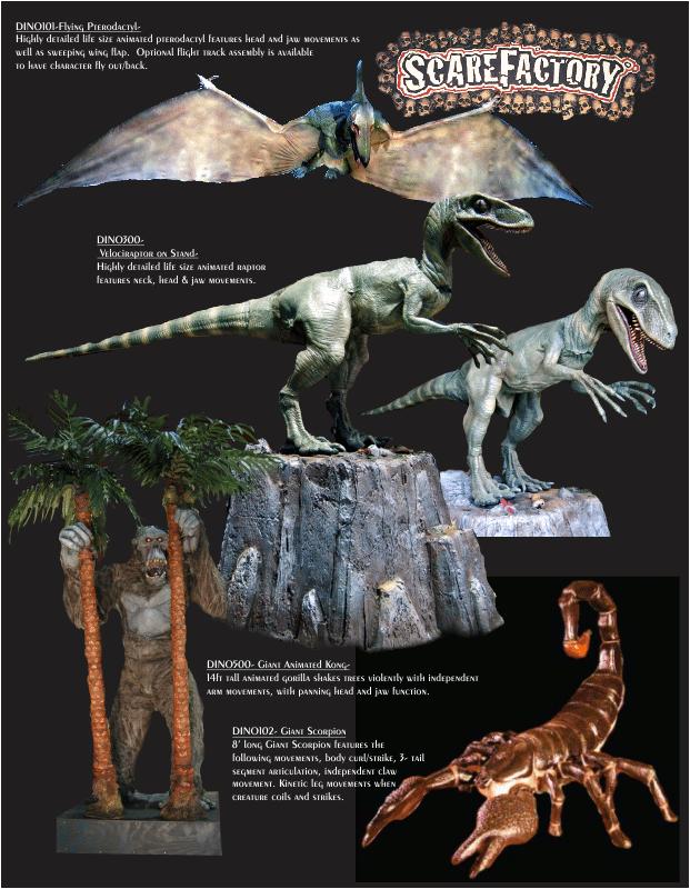 Dinosaur Themed Product Catalog